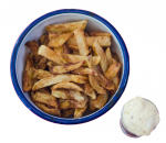 French fries with homemade mayonnaise