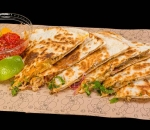 Quesadilla with minced beef