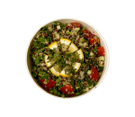 Parsley tabouleh with quinoa