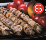 Pork skewers 5 pcs