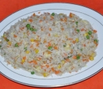 52. Fried rice with eggs and vegetables