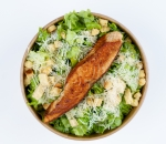 Caesar salad with Grilled salmon