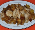 93. Chicken with potatoes
