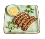Beer sausage at our recipe