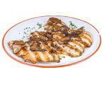 Chicken breast with black truffle from Norcia