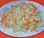 8. Salad of sour-spicy cabbage