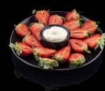 Strawberries with Mascarpone cream