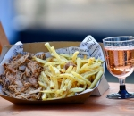 Pulled Pork with french fries