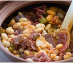 Beans with beef