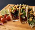Tacos with pulled veal