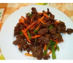 N1. Fried beef appetizer