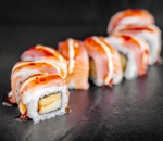 Sushi Uramaki California King Roll