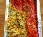LENTEN RED PEPPERS WITH RICE