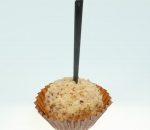 Walnut truffle with ham and cheese