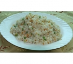 119. Rice with eggs, peas and carrots