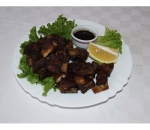 2. Fried pork ribs