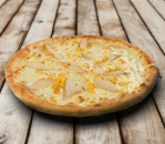 Chicken pizza and cheese
