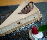 Cheesecake of the day chocolate