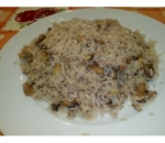 111a. Rice with mushrooms and eggs