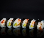 Futomaki shrimp and squid 6 pcs