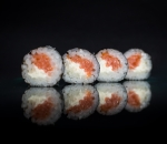 Hosomaki smoked salmon 4pcs