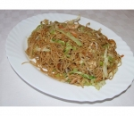 122. Spaghetti with vegetables and pork