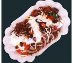 Beef burrito in a bowl