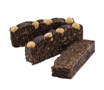 Protein bar with hazelnuts and coconut