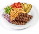 Portion of kebab Thrace