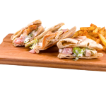 Panini with chicken