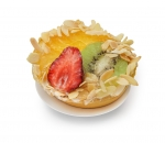 Tartlet vanilla cream and fruit