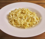 Tagliatelle with Four types of cheese