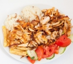 Doner with rice