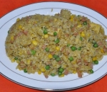 51. Fried rice with curry
