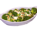 Broccoli in the oven