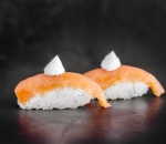 Sushi Nigiri Smoked Salmon and Philadelphia