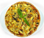 Forest Pizza with Boletus Mushrooms