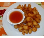 99. Shrimp breaded with sweet and sour sauce