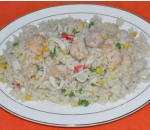 56. Fried rice with seafood