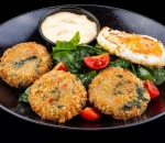 NEW Spinach and quinoa patties