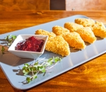 Breaded cheeses