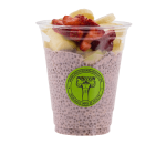 Protein chia with BCAAs and fresh fruit