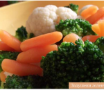 Stewed vegetables with butter