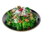 Spinach salad with truffles