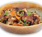 Mongos bowl with dairy veal