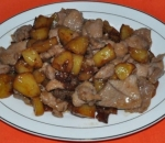 108. Pork with potatoes