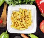 55. Homemade french fries