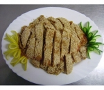 40a. Fried chicken with sesame