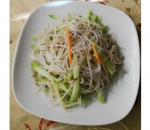 14. Salad of soy sprouts