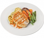 Chicken fillet with seasonal vegetables